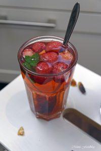 Anzeige Fruchtiger Erdbeer Minz Tee Gewinnspiel Heißes gegen Hitze mit den BRITA Tischwasserfiltern 4