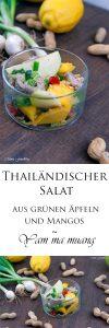 Thailändischer Salat aus grünen Äpfeln und Mangos Yam ma muang eine kulinarische Urlaubsreise 8