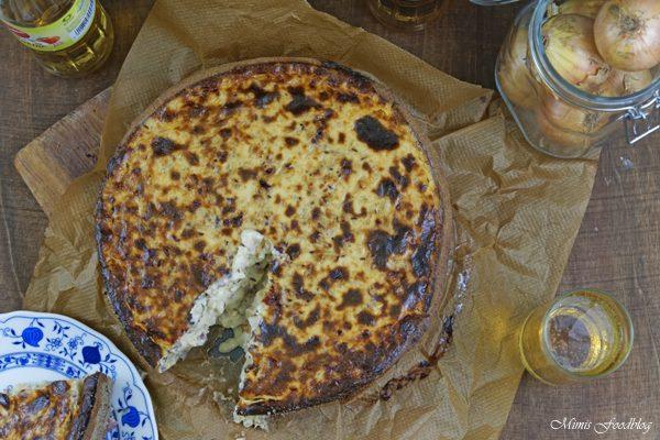 {Anzeige} Zwiebelkuchen mit Buchweizen-Roggenboden ~ dazu die alkoholfreie Erfrischung – Sinalco