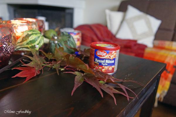 Ein gemütlicher Herbstabend Kaft tanken für den Herbst mit Erdnüssen von ültje 10