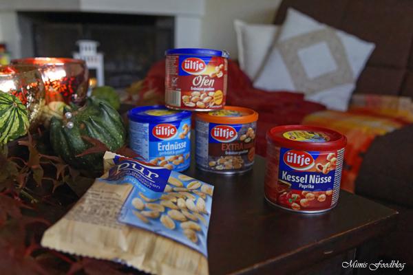 Ein gemütlicher Herbstabend Kaft tanken für den Herbst mit Erdnüssen von ültje 4