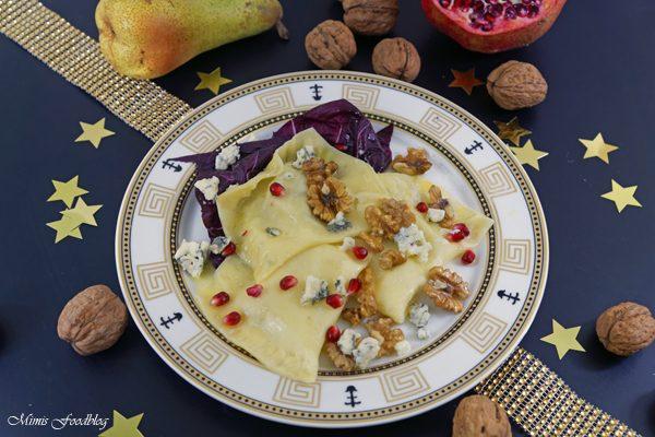 Selbstgemachte weihnachtliche Pasta ~ {Sasibella-Adventskalender}