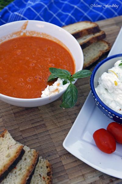 Sommerliche Tomatensuppe Suppenliebe aus Datteltomaten 1