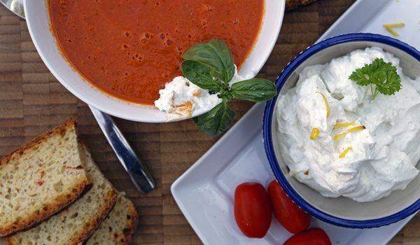 Sommerliche Tomatensuppe Suppenliebe aus Datteltomaten 2