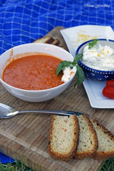 Sommerliche Tomatensuppe Suppenliebe aus Datteltomaten 3