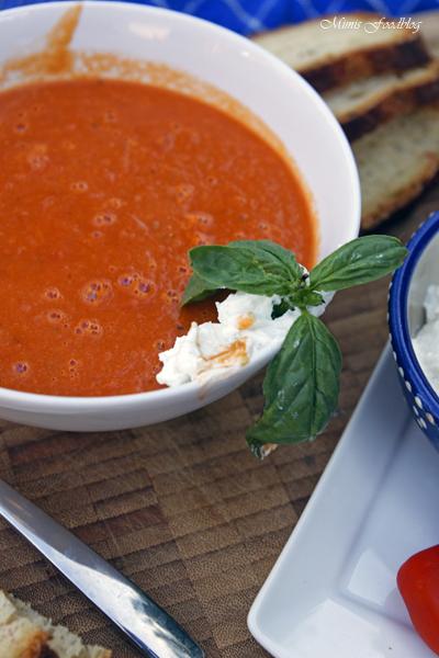 Sommerliche Tomatensuppe Suppenliebe aus Datteltomaten 4