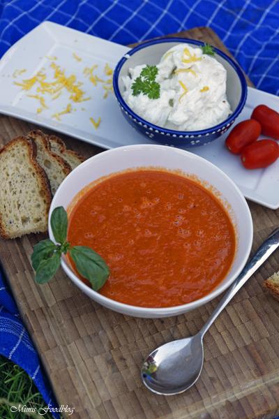 Sommerliche Tomatensuppe Suppenliebe aus Datteltomaten 5