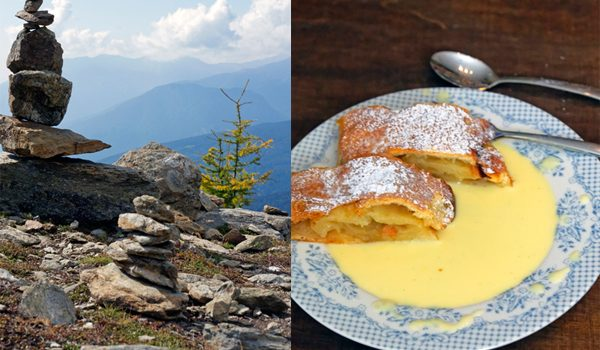 sterreichischer Apfelstrudel ohne Rosinen kulinarische Erinnerungen an die Berge 7