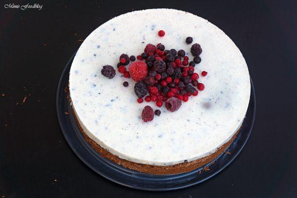 Schokoladenkuchen mit Stracciatella-Topping ~ schneller und simpler Kuchen für Schleckermäuler
