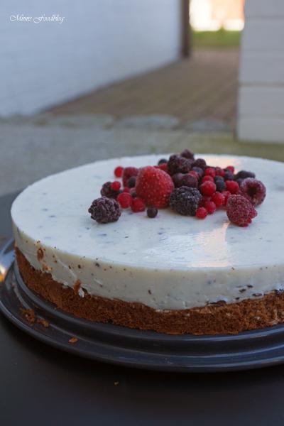 Schokoladenkuchen mit Stracciatella Topping 3
