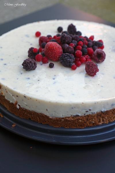 Schokoladenkuchen mit Stracciatella Topping 5