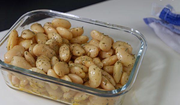 Dicke Bohnen mit Estragon ein frischer Bohnensalat 1