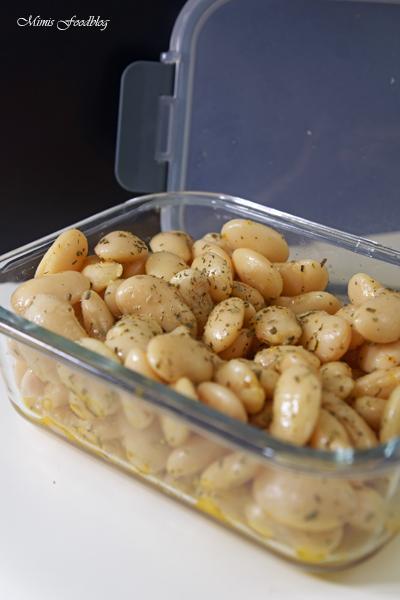 Dicke Bohnen mit Estragon ein frischer Bohnensalat 2