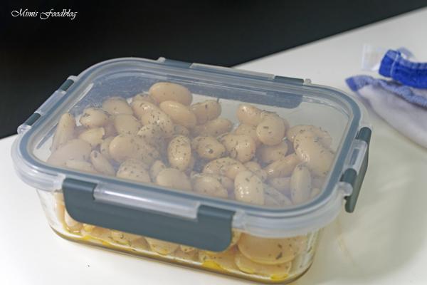 Dicke Bohnen mit Estragon ein frischer Bohnensalat 3