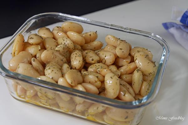 Dicke Bohnen mit Estragon ein frischer Bohnensalat 4