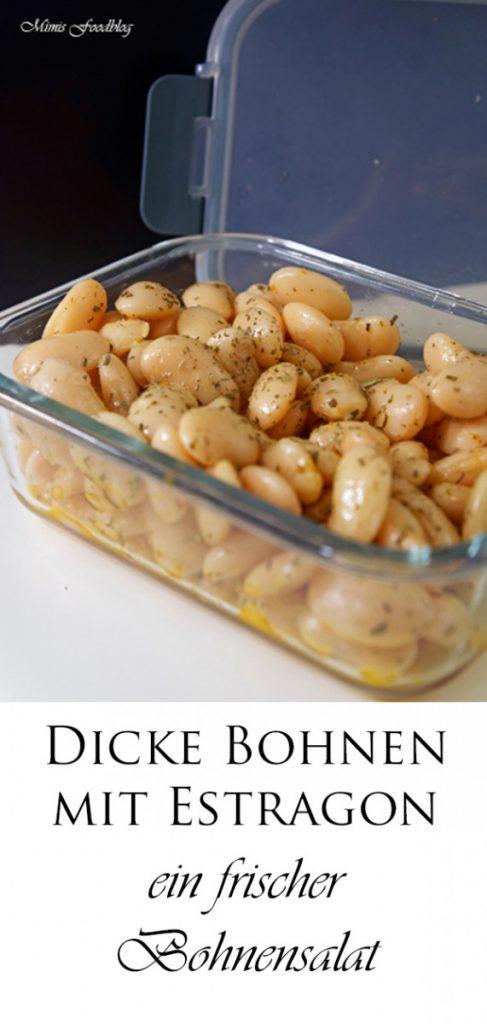 Dicke Bohnen mit Estragon ein frischer Bohnensalat 5