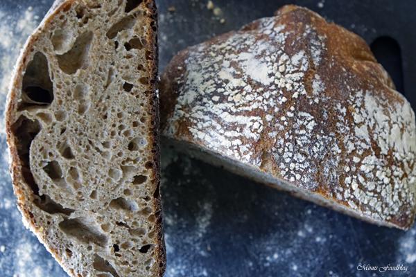 Französisches Roggenmischbrot ~ gebacken im gusseisernen Bräter* -