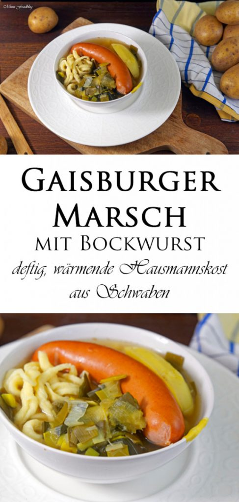 Gaisburger Marsch mit Bockwurst deftig waermende Hausmannskost 8