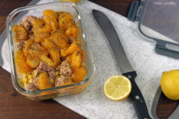 frischer Thunfisch Maissalat meal prep ganz easy 5